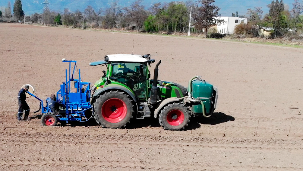 vineyard planting machine