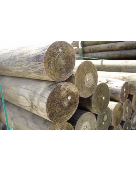 Treated dowelled posts
