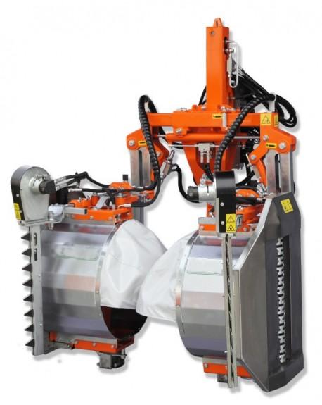 Vineyard pre-pruning machine V3