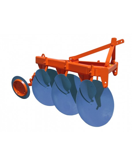 3 to 5 disc plough, hydraulic reversion