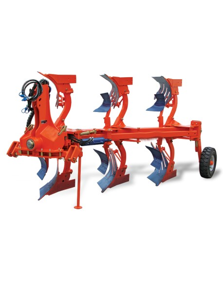 2 and 3 furrow ploughs
