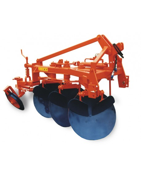 3 to 5 discs ploughs, hydraulic reversion