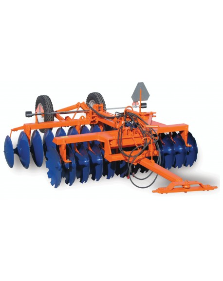 "Offset or ""v"" disc harrow"