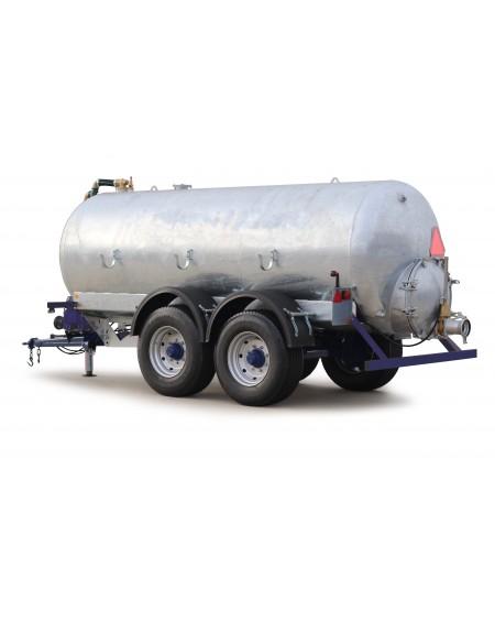 Reboque cisterna galvanizado