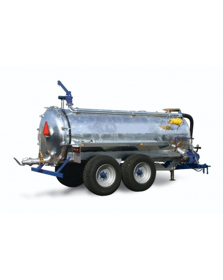 Reboque cisterna com sistema garda