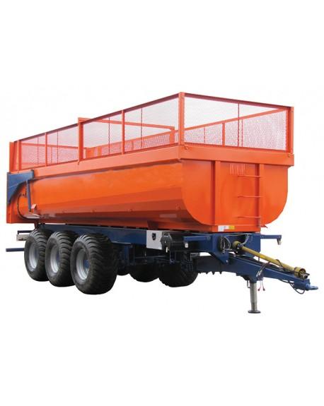 Agricultural monocoque trailer