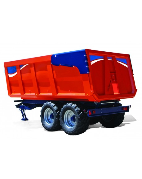 Agricultural monocoque trailers