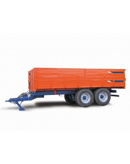 Agricultural metallic mixed trailer