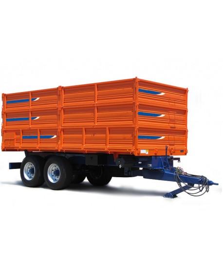 Agricultural trailer rear titling