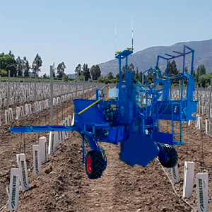 máquina de plantar