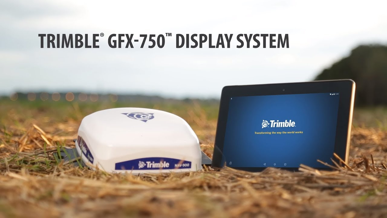 monitor gps GFX Trimble
