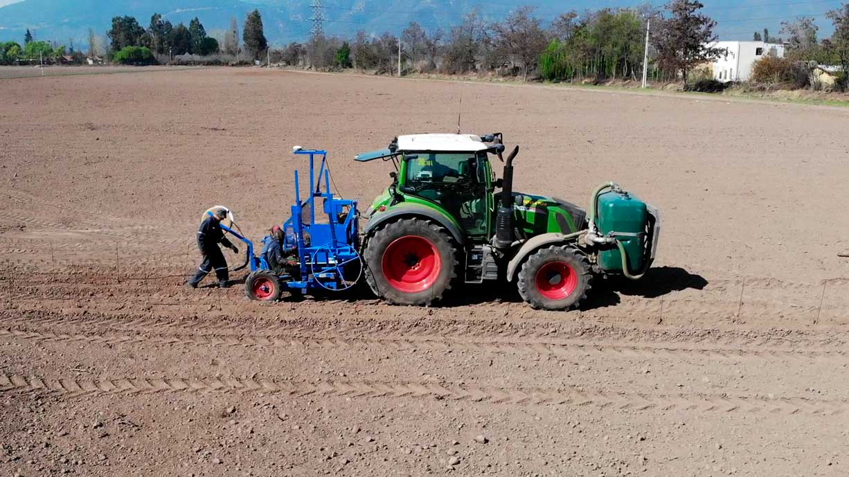 gps guided planting machines