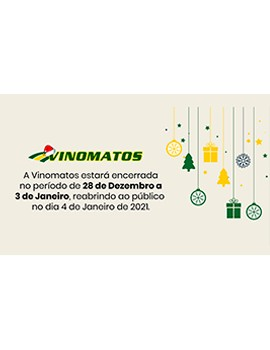 Vinomatos company wishes Merry Christmas and Happy New Year! | News