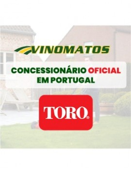Vinomatos sells gardening equipment – find out our Toro lawnmowers